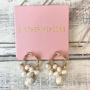 8 Other Reasons Pearl Drop Earrings in Gold